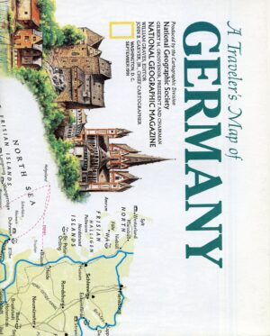 National Geographic Map September 1991-0