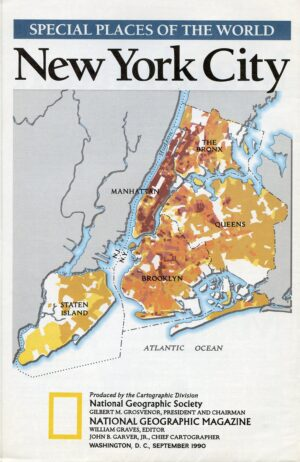 National Geographic Map September 1990-0