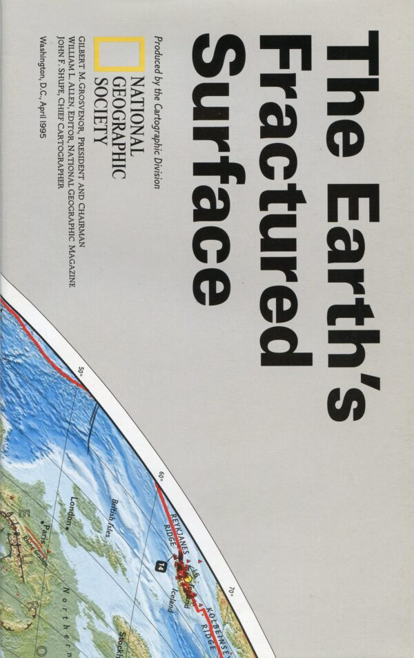 National Geographic Map April 1995-0