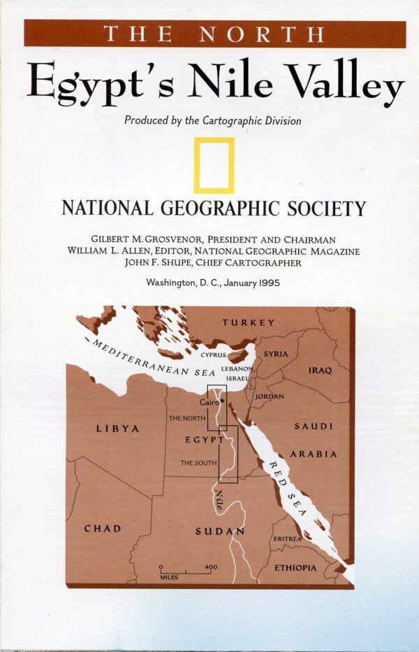 National Geographic Map January 1995-0