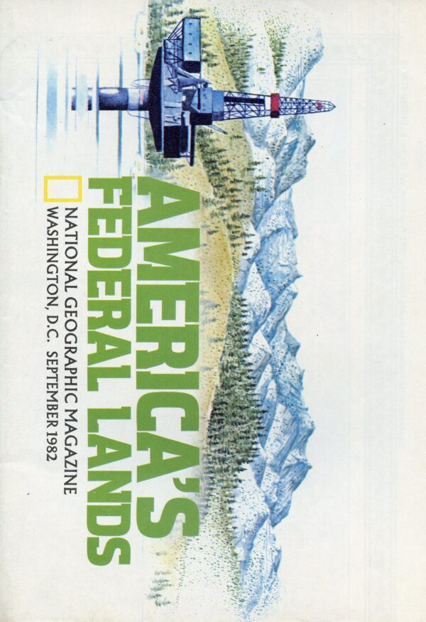 National Geographic Map September 1982-0