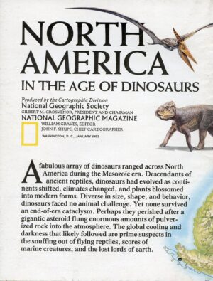 National Geographic Map January 1993-0