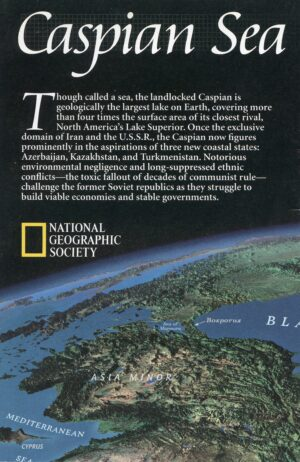 National Geographic Map May 1999-0
