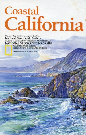 National Geographic Map July 1993-0
