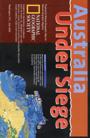 National Geographic Map July 2000-0