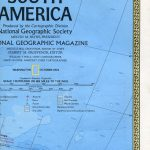 National Geographic Map October 1972-0