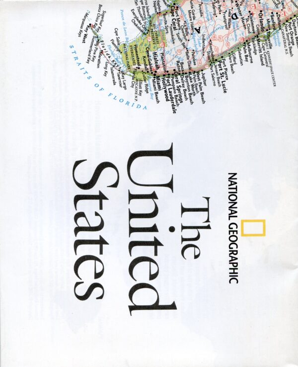 National Geographic Map October 2006-0
