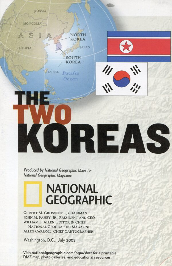 National Geographic Map July 2003-0