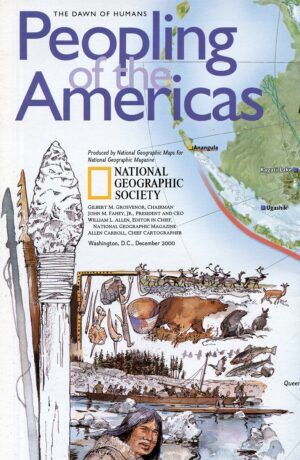 National Geographic Map December 2000-0
