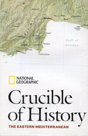 National Geographic Map December 2008-0