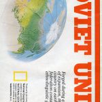 National Geographic Map March 1990-0