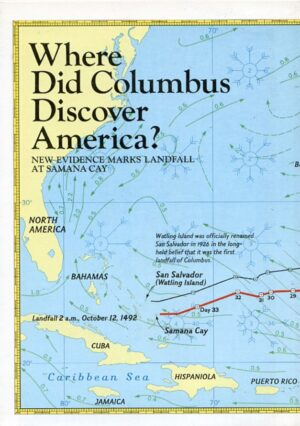 National Geographic Map November 1986-0