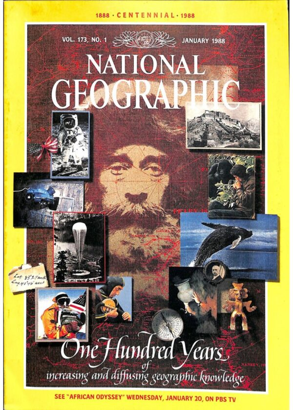 National Geographic January 1988-0