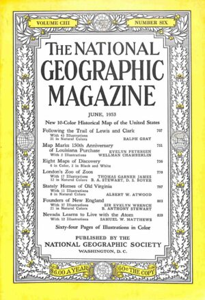 National Geographic June 1953-0