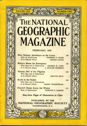 National Geographic February 1953-0