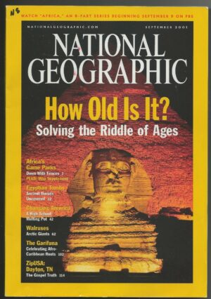 National Geographic September 2001-0