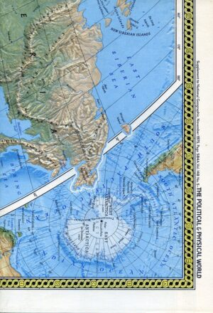 National Geographic Map November 1975-0