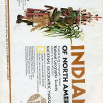 National Geographic Map December 1972-0
