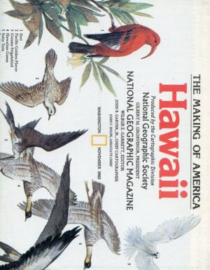 National Geographic Map November 1983-0
