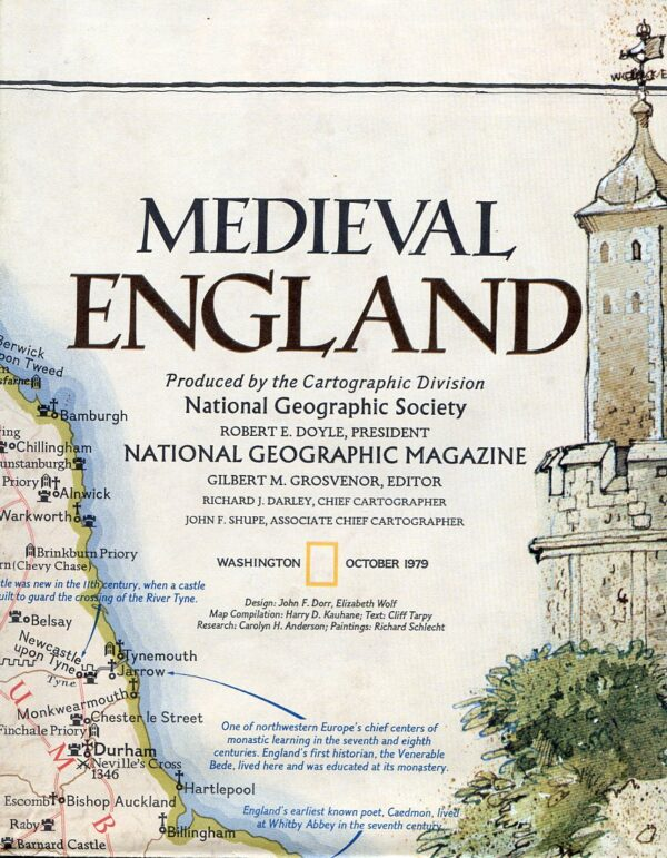 National Geographic Map October 1979-0