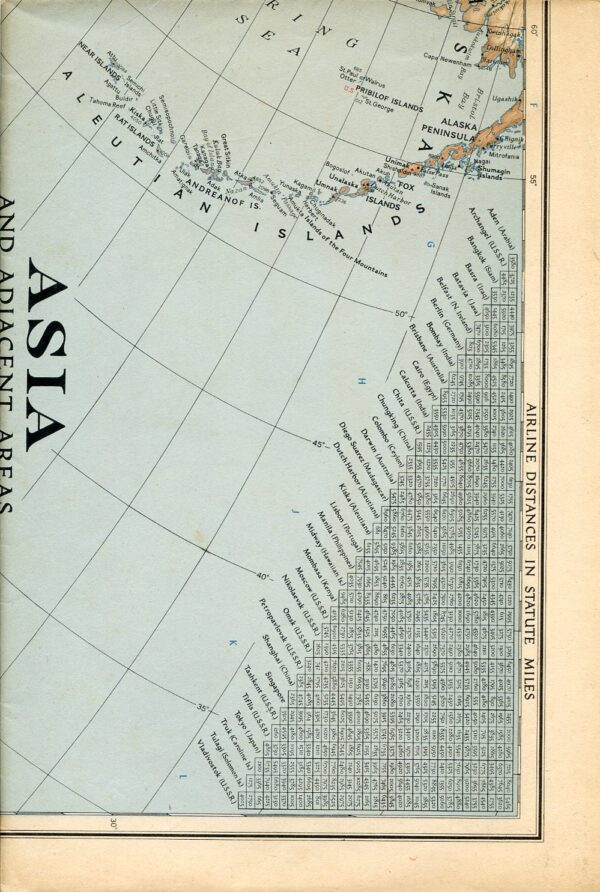 National Geographic Map December 1942-0