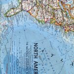 National Geographic Map April 1964-0