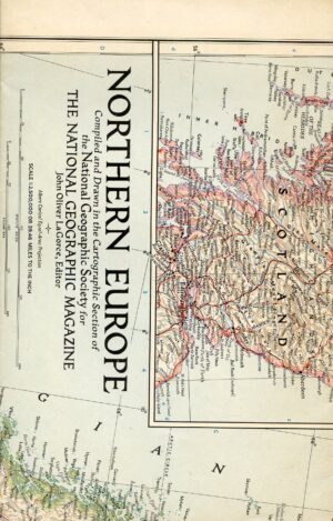 National Geographic Map August 1954-0