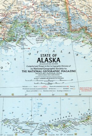 National Geographic Map July 1959-0