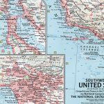 National Geographic Map November 1959-0