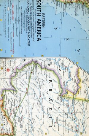 National Geographic Map September 1962-0