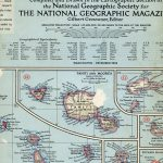 National Geographic Map December 1952-0