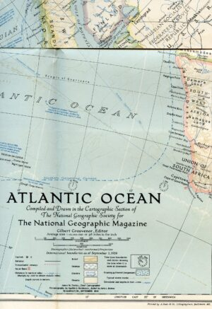 National Geographic Map September 1941-0