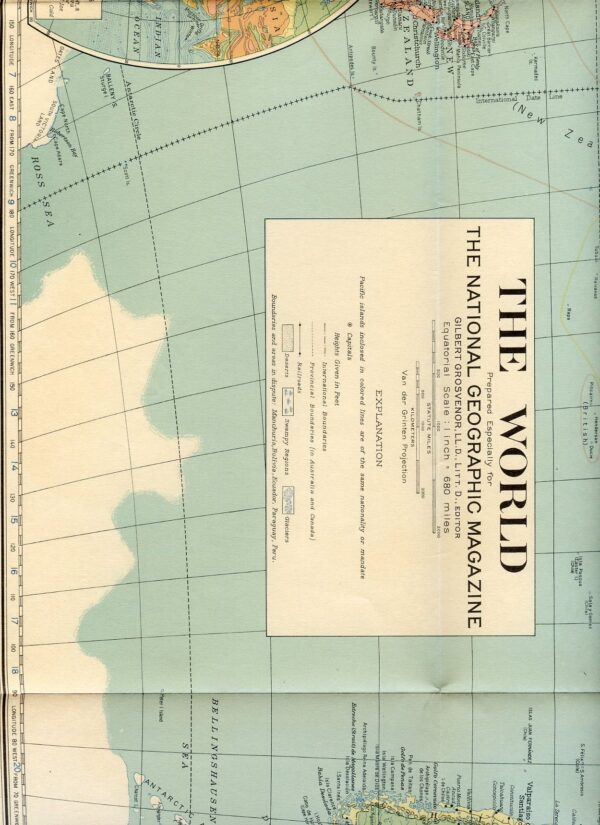 National Geographic Map 1932-0