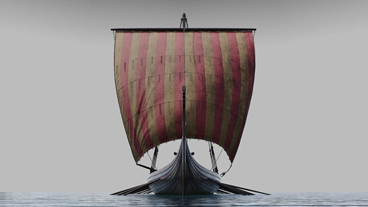 National Geographic Back Issue - The Vikings; Lords of Sea and Sword